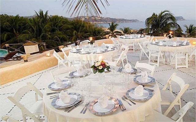 Hotel Quinta Real Huatulco, facilidades nupciales
