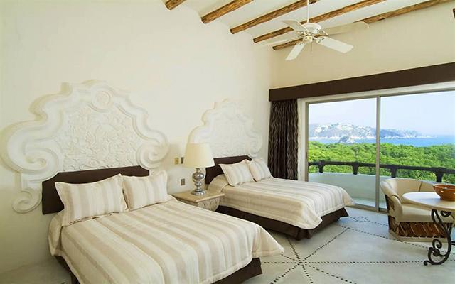 Hotel Quinta Real Huatulco, habitaciones con todas las amenidades