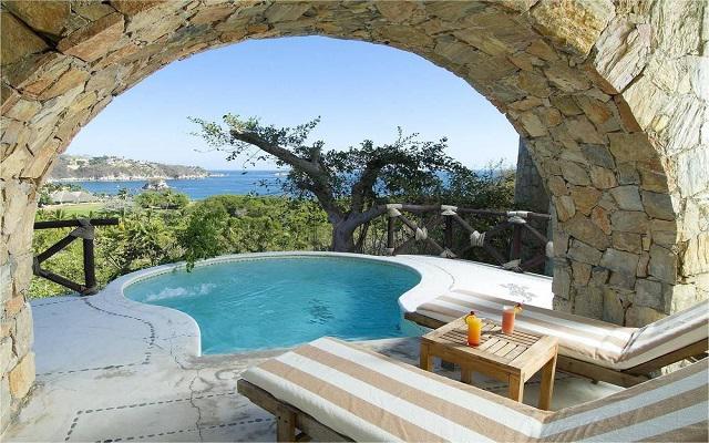 Hotel Quinta Real Huatulco, disfruta un baño en el jacuzzi
