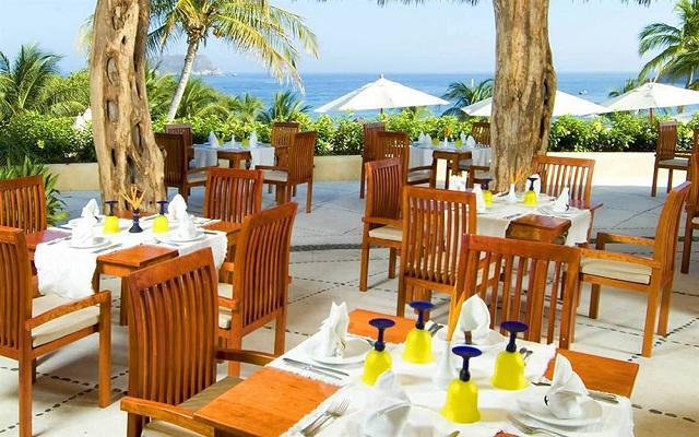 Hotel Quinta Real Huatulco, desayuna en ambientes llenos de placer