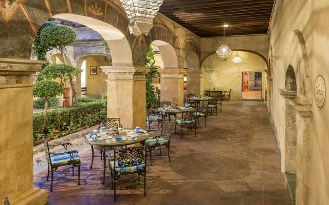 Hotel Quinta Real Oaxaca, escenario ideal para tus alimentos