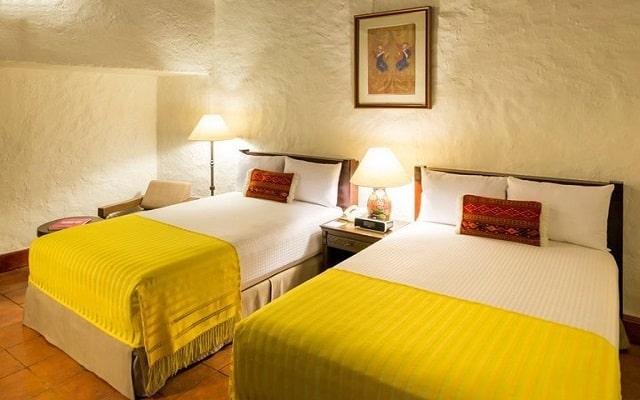 Hotel Quinta Real Oaxaca, habitaciones con todas las amenidades