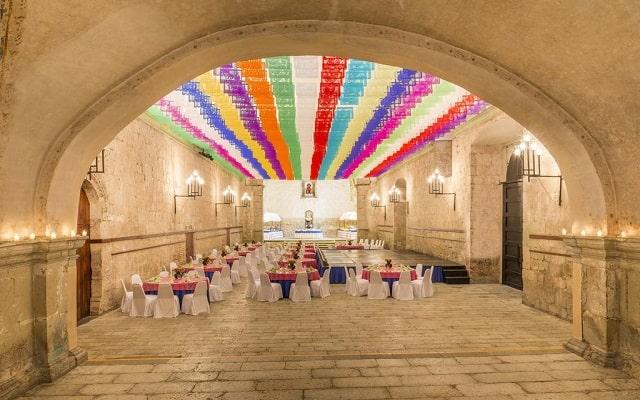 Hotel Quinta Real Oaxaca, espacios acondicionados para tu celebración
