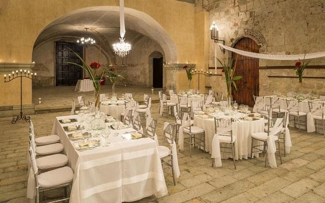 Hotel Quinta Real Oaxaca, facilidades nupciales