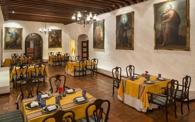 Hotel Quinta Real Oaxaca, ricos menús para tus alimentos