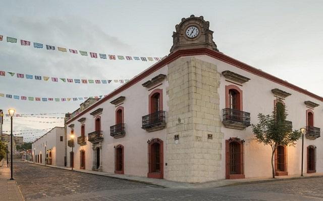Hotel Quinta Real Oaxaca, buena ubicación