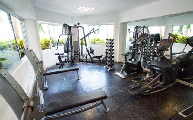 Hotel Ramada Cancún City, gimnasio