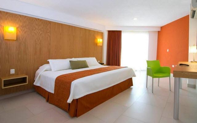 Hotel Ramada Cancún City, acogedoras habitaciones