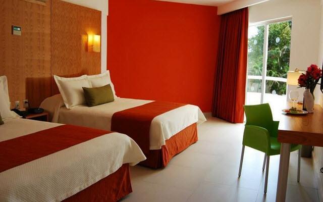 Hotel Ramada Cancún City, habitaciones bien equipadas