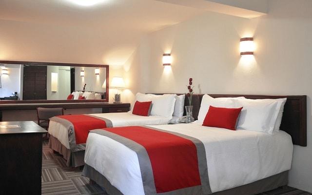 Hotel Ramada Plaza León, amplias y luminosas habitaciones