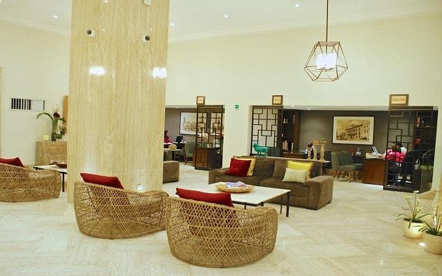 Hotel Ramada Plaza León, atención personalizada desde el inicio de tu estancia