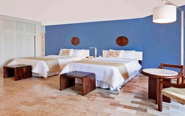 Hotel Ramada Resort Mazatlán, habitaciones cómodas y acogedoras