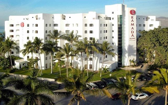 Hotel Ramada Resort Mazatlán, buena ubicación en la Zona Dorada