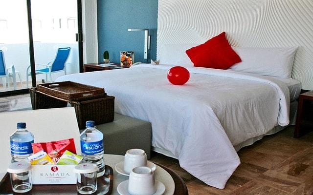Hotel Ramada Resort Mazatlán, habitaciones con todas las amenidades