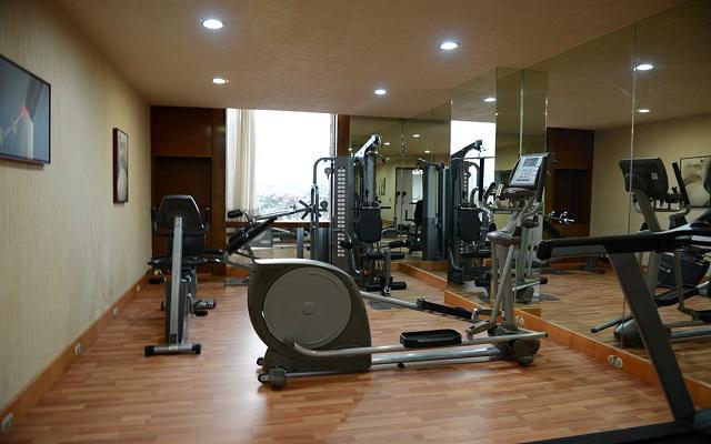 Hotel Ramada Vía Veneto Ciudad de México Sur, gimnasio