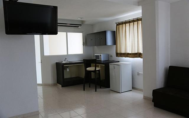 Real de Boca, habitaciones bien equipadas
