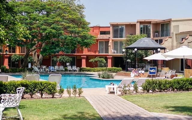 Hotel Real de Minas San Miguel Allende, disfruta de su alberca al aire libre