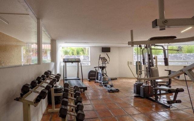 Hotel Real de Minas San Miguel Allende, gimnasio