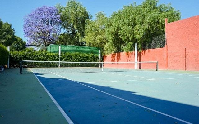 Hotel Real de Minas San Miguel Allende, cancha de tenis