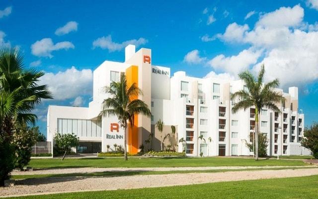 Hotel Real Inn Cancún, buena ubicación