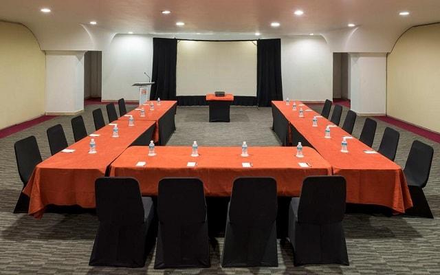 Hotel Real Inn Guadalajara Centro, sala de conferencias