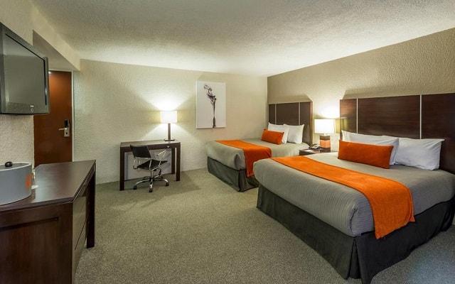 Hotel Real Inn Guadalajara Centro, habitaciones bien equiadas