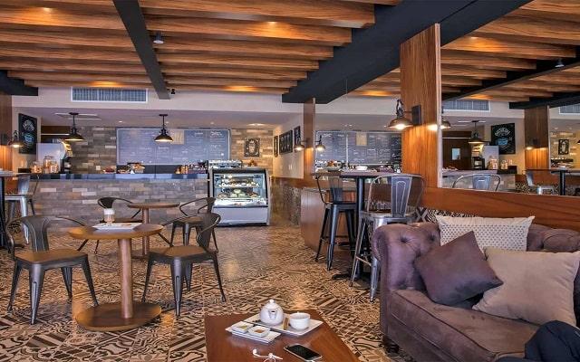 Hotel Reflect Krystal Grand Los Cabos, Cafetería
