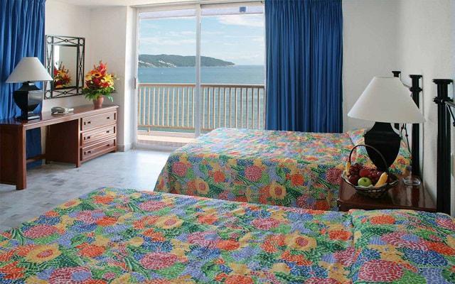 Hotel Ritz Acapulco, habitaciones bien equipadas