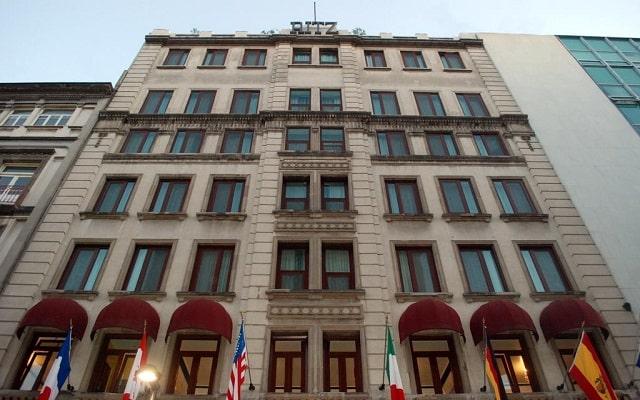 Hotel Ritz Ciudad de México, arquitectura porfiriana