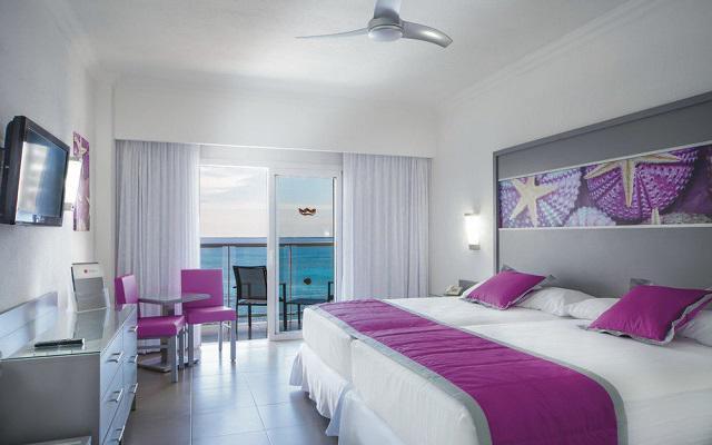 Hotel Riu Cancún All Inclusive, amplias y luminosas habitaciones