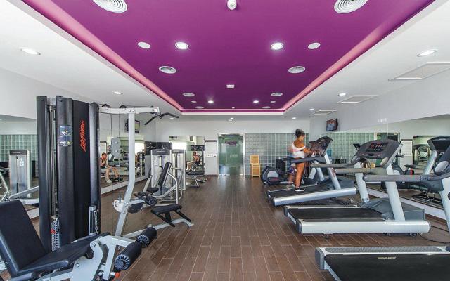 Hotel Riu Cancún All Inclusive, gimnasio de uso gratuito