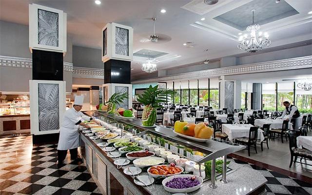 Hotel Riu Caribe, gastronomía de calidad