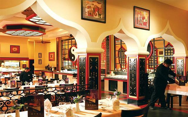 Hotel Riu Caribe, Restaurante Shangri-la