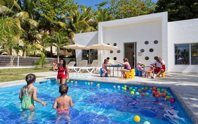 Hotel Riu Palace México, club de niños para los pequeños de la familia