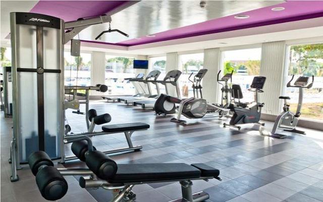 Hotel Riu Palace México, gimnasio bien equipado