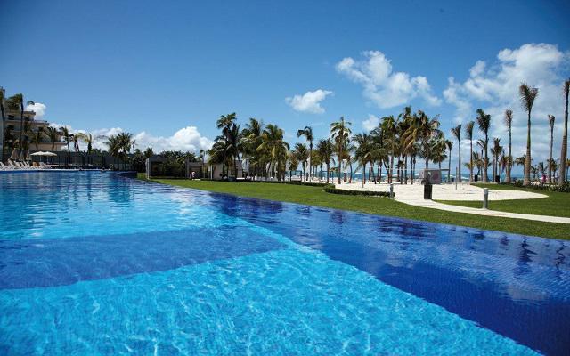 Hotel Riu Palace Península All Inclusive, espacios ideales para un partido de voley