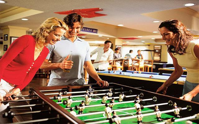 Hotel Riu Palace Riviera Maya, sala de juegos