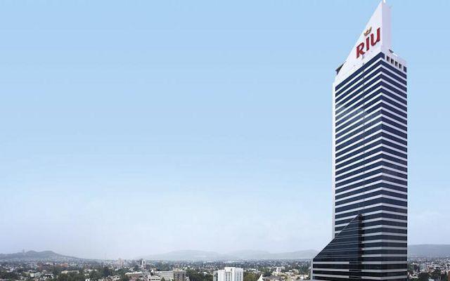 Hotel Riu Plaza Guadalajara, buena ubicación