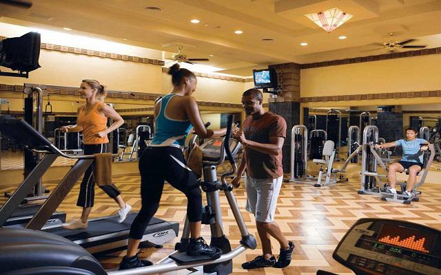 Hotel Riu Vallarta All Inclusive, gimnasio bien equipado