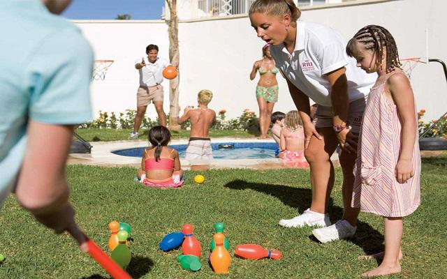 Hotel Riu Vallarta All Inclusive, los niños se divertirán en el kids club