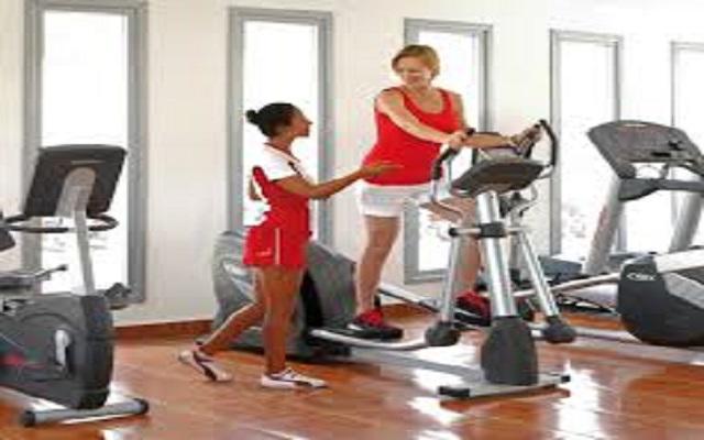 Hotel Riu Yucatán, podrás ejercitarte en el gimnasio
