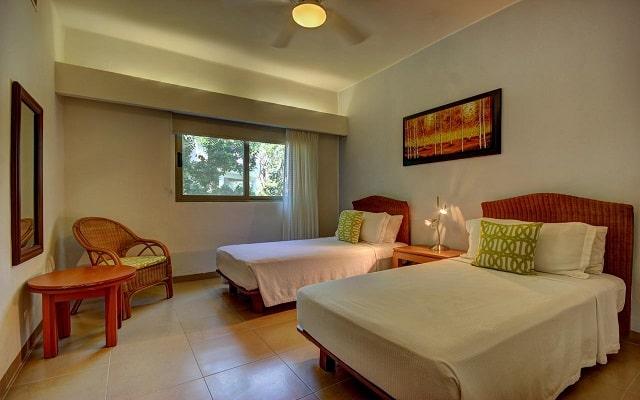 Hotel Riviera Maya Suites, amplias y confortables habitaciones