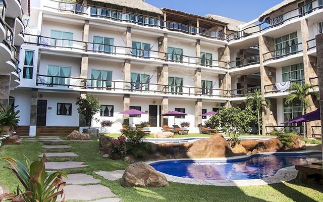 Hotel Rockaway en Playa Zicatela