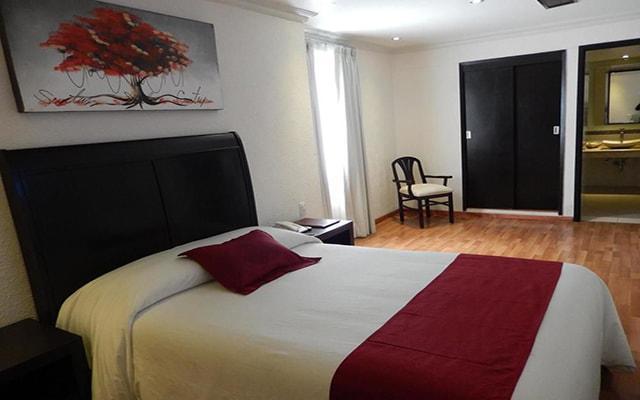 Hotel Roma Guadalajara, habitaciones bien equipadas