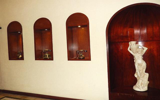 Hotel Roma Guadalajara, instalaciones acogedoras