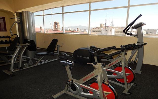 Hotel Roma Guadalajara, gimnasio bien equipado