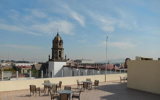 Hotel Roma Guadalajara, vistas increíbles desde la terraza