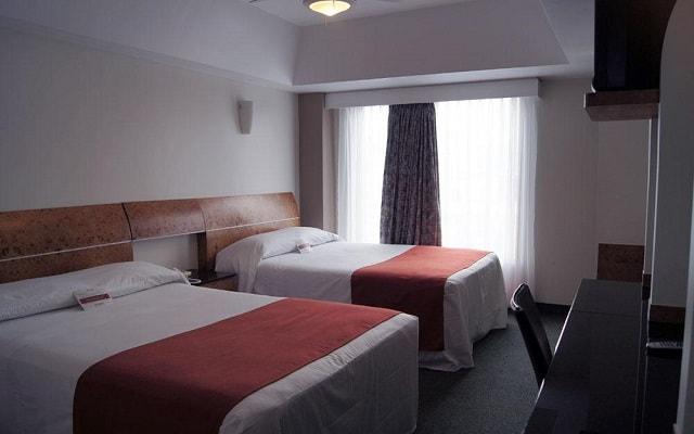 Hotel Roosevelt, amplias y luminosas habitaciones