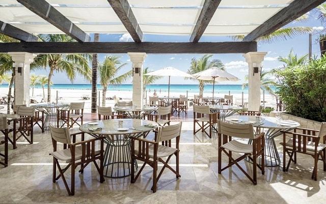 Hotel Royal Hideaway Playacar Adults Only, escenario ideal para tus alimentos