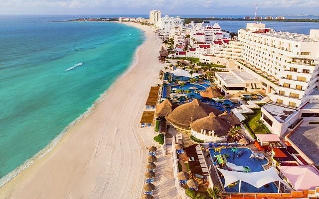 Hotel Royal Solaris Cancún, hermosa vista aérea